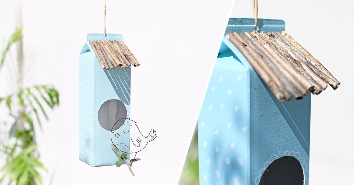 Gib den Vögeln im Garten ein Zuhause!