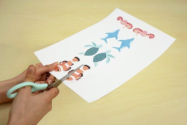 Entdecken Sie unsere Meerestier-Lesezeichen, welche Ihre Lektüre und ruhigen Momente mit Ihren Kindern begleiten werden.